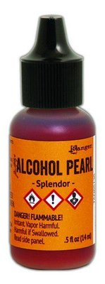 Ranger Alcohol Ink Pearl 15 ml - Splendor TAN65135 Tim Holtz