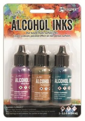 Ranger Alcohol Ink Kits  Nature Walk 3x15 ml TIM19787 Tim Holtz 3x15ml