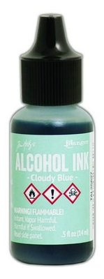 Ranger Alcohol Ink 15 ml - cloudy blue TAL25627 Tim Holz