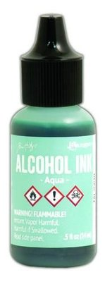 Ranger Alcohol Ink 15 ml - aqua TAL25610 Tim Holz