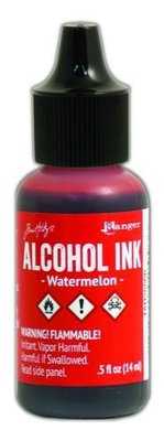 Ranger Alcohol Ink 15 ml - watermelon TAB25566 Tim Holz