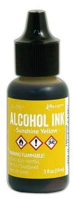 Ranger Alcohol Ink 15 ml - sunshine yellow TAB25559 Tim Holz