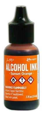 Ranger Alcohol Ink 15 ml - sunset orange TAB25542 Tim Holz