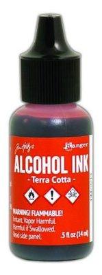 Ranger Alcohol Ink 15 ml - terra cotta TIM22213 Tim Holz