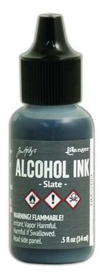 Ranger Alcohol Ink 15 ml - slate TIM22183 Tim Holz