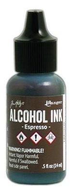 Ranger Alcohol Ink 15 ml - espresso TIM22039 Tim Holz