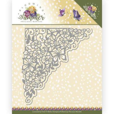 PM10155 Dies - Precious Marieke - Blooming Summer - Blooming Corner – 12,2x13,2cm