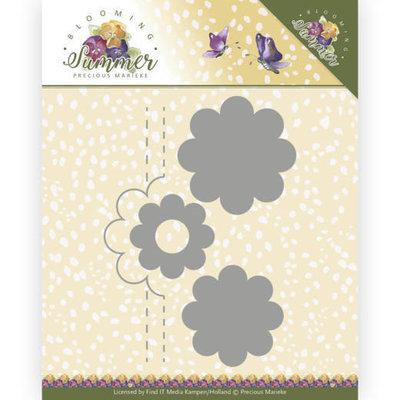 PM10154 Dies - Precious Marieke - Blooming Summer - Pop-up Flower 2 -15x13cm