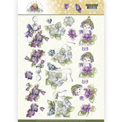 CD11314 3D Knipvel - Precious Marieke - Blooming Summer - Summer Scenes