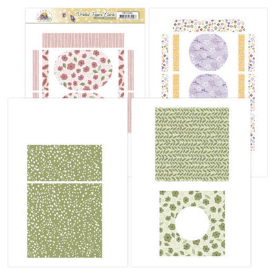 PMFC10001 Printed Figure Cards - Precious Marieke - Blooming Summer