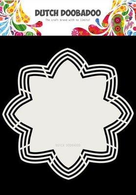 Dutch Doobadoo Dutch Shape Art Octo Flower 21x21 470.713.177