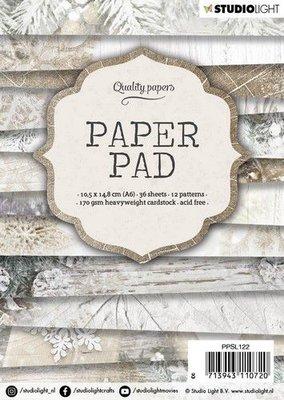 Studio Light Paper pad A6 36 vel 12 designs nr 122 PPSL122 14,8x10,5cm