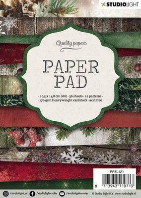 Studio Light Paper pad A6 36 vel 12 designs nr 121 PPSL121 14,8x10,5cm