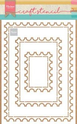 Marianne D Stencil Postkaart PS8034 149x149 mm