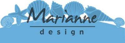 Marianne D Creatable zeeschelpenrand LR0601 135x30,5 mm