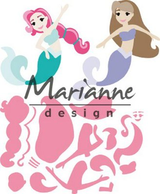 Marianne D Collectable Mermaids by Marleen COL1467 121x102,5