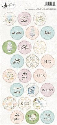 Piatek13 - sticker sheet Party Truly Yours 02 P13-TRU-15 10,5x23 cm