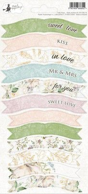 Piatek13 - sticker sheet Party Truly Yours 01 P13-TRU-14 10,5x23 cm