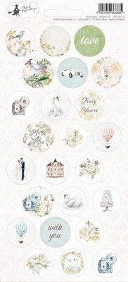 Piatek13 - Sticker sheet Truly Yours 03 P13-TRU-13 10,5x23 cm