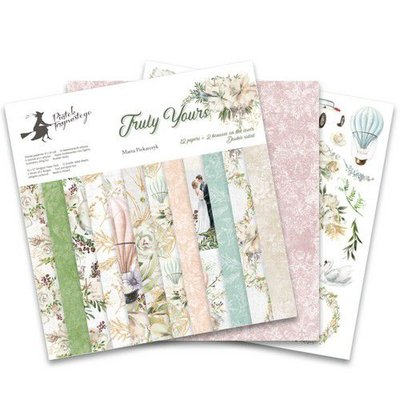 Piatek13 - Paper pad Truly Yours 12 Truly Yours P13-TRU-08 12x12""