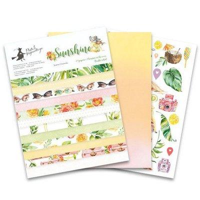 "Piatek13 - Paper pad Sunshine 6x8 Sunshine P13-SUN-10 6x8 """