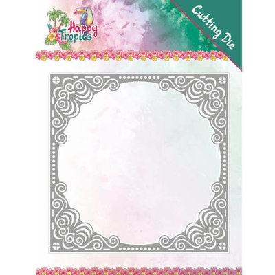 YCD10177 Dies - Yvonne Creations - Happy Tropics - Tropical Frame