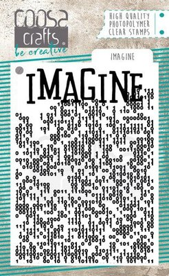 COOSA Crafts Clearstamps A7 - Imagine COC-085