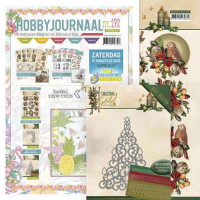 SETHJ172 - ADD10182 Hobbyjournaal 175 –SET- met gratis knipvel en mal ADD10182