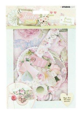 Studio Light Die Cut Paper Set Lovely Moments nr 654 EASYLM654 (07-19)