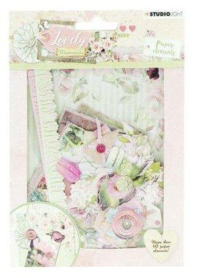 Studio Light Die Cut Paper Set Lovely Moments nr 653 EASYLM653 (07-19)