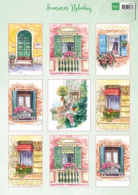 Marianne D Decoupage Summer Holiday VK9577 A4