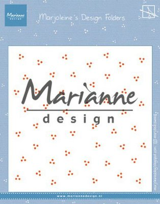 Marianne D Embossing folder Marjoleine's dots DF3455 152x154mm