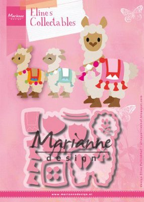 Marianne D Collectable Eline's Alpaca COL1470 98x77mm