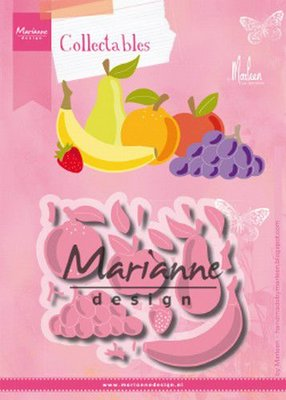 Marianne D Collectable Fruit by Marleen COL1469 104x87,5mm