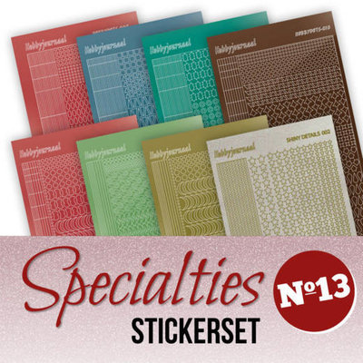 Specialties 13 Stickerset