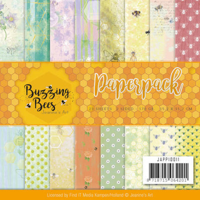 Birds and Flowers – 170gr 15,2 x 15,2cm Paperpack Jeanines Art