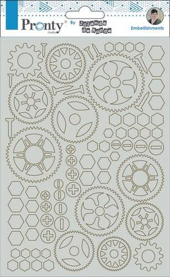 Pronty Chipboard Gears A5 492.010.002 by Jolanda