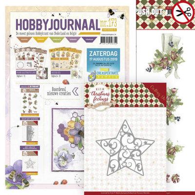 SETHJ173 - PM10163 Hobbyjournaal 173  – met gratis pushoutvel en mal PM10163