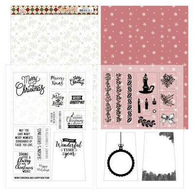 PMMC1002 Mica Sheets - Precious Marieke - Warm Christmas Feelings