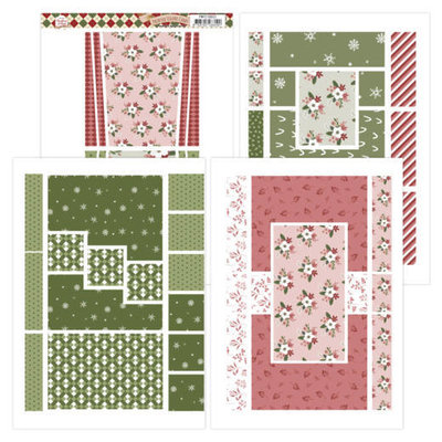 PMFC10002 Printed Figurg Cards - Precious Marieke - Warm Christmas Feelings