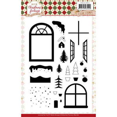 PMCS10041 Clear Stamps - Precious Marieke - Warm Christmas Feelings