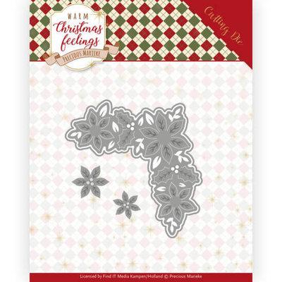 PM10165 Dies - Precious Marieke - Warm Christmas Feelings - Christmas Corner