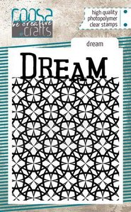 COOSA Crafts clearstamps A7 - Dream COC-089