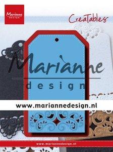 Marianne D Creatable Classic label LR0617 120x160 mm