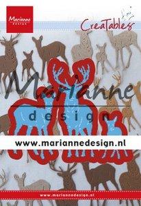 Marianne D Creatable Tiny's herten familie LR0615 110x160 mm
