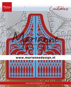 Marianne D Creatable Gate Folding dies - tweedelig hek 2 LR0613 155x190 mm