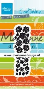 Marianne D Craftable Punch die bloem Sakura CR1477 80x160 mm
