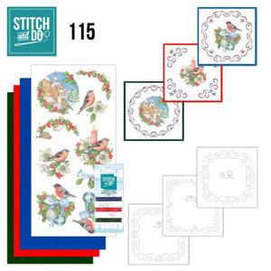 Stitch and Do 115 Christmas Birds