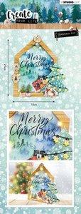 Studio Light MDF Set Create Your Life Christmas nr 57 MDFSL57 (09-19)