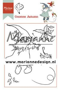 Marianne D Clear Stamp Hetty's Gnomes herfst HT1647 15,5 x 10,5 cm (09-19)